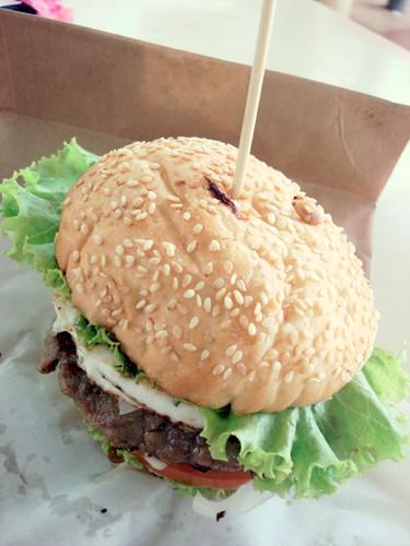 Lamb Burger at SS2 Wai Sik Kai 1