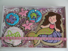 Mermaid Cookies (East Coast Cookies) Tags: ocean fish cookies starfish mermaid underthesea royalicing decoratedcookies fishcookies starfishcookies seashellcookies oceancookies mermaidcookies undertheseacookies