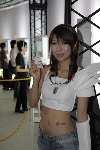 Ignition booth girl