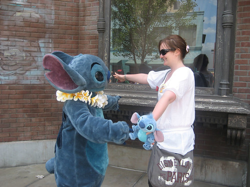Meeting Stitch in California