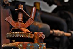 Tehniški muzej v Bistri (selecshine) Tags: cars museum rust technology machinery slovenia slovenija mechanics avto technicalmuseum bistra tehnologija rja avtomobil tehniškimuzej