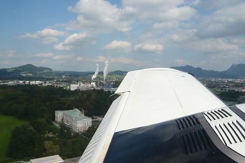 Final RWY 16 - Salzburg Airport