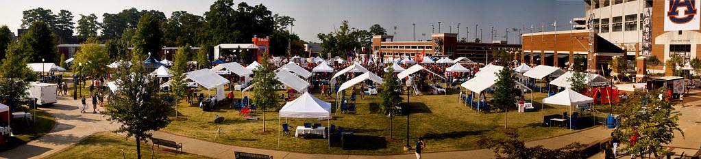 Auburn Gameday Panorama