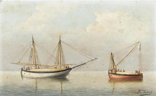 cuadro de Francisco Vidal y Vidal