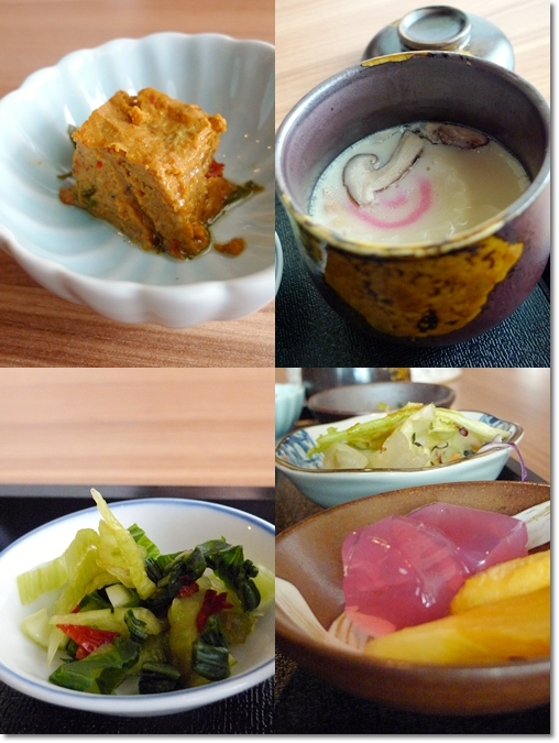Side Dishes of the Lunch Set