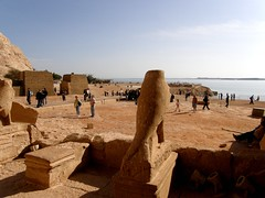 Abu Simbel - Temple of Ramses II (Amberinsea Photography) Tags: voyage travel beautiful temple amazing egypt culture statues ramsesii ancientegypt abusimbel nefertari