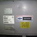 Carrier split system chiller in the parking garage