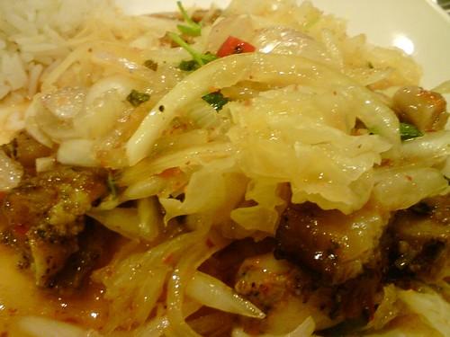 酸辣涼拌雞飯套餐DSC01438
