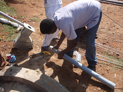Matende Sec.School-pump installation.