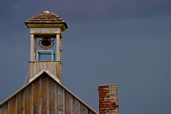 Storm (Christopher Dean Young) Tags: roof chimney sky storm tower utah bell moab