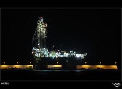 :: Enterprise :: (:: Riky ::) Tags: puerto muelle canarias oil nocturna petroleo plataforma riky mywinners flickrdiamond wwwrikyes