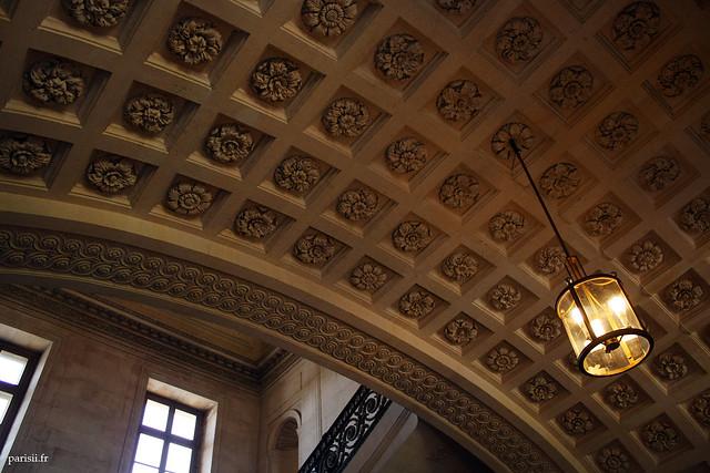 Superbe décoration du plafond
