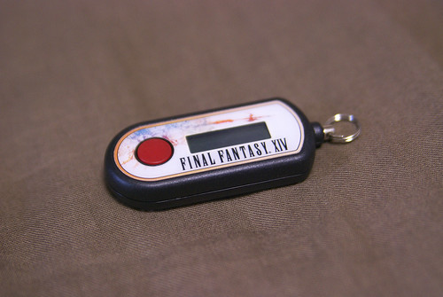 FINAL FANTASY XIV Collector's Edition Security Token