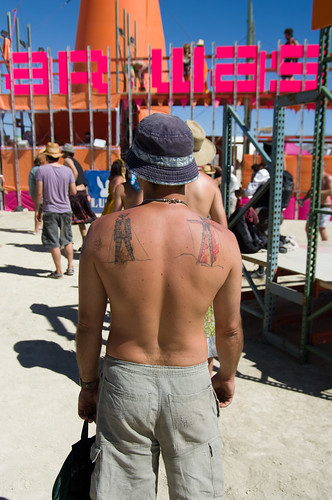 Burning Man Tattoos