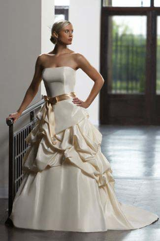 wedding gown color