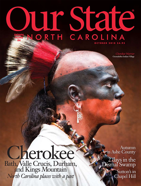 Patrick Cavan Brown Our State Cover Cherokee