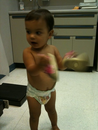 Laila at her 18 month checkup