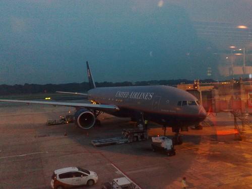 UA804 to Tokyo