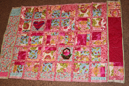 Quilt as You Go, PINK!
