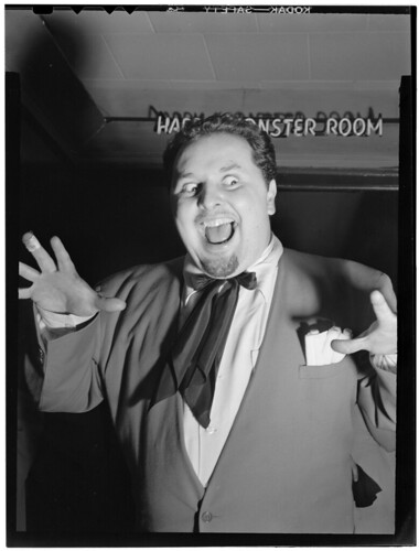 [Portrait of Chubby Jackson, Esquire Club, Valley Stream, Long Island, N.Y., ca. Apr. 1947] (LOC)