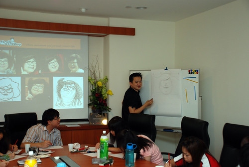 Caricature Workshop for Spire Research & Consulting - 17