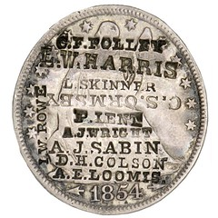 Folley Harris Skinner counterstamp