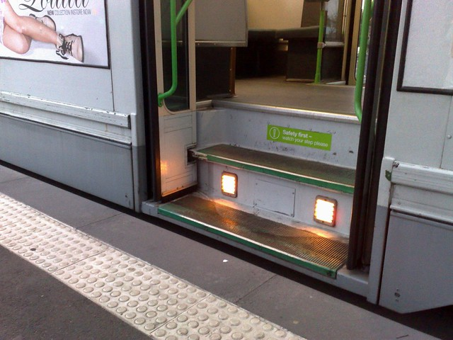 Not an accessible tram