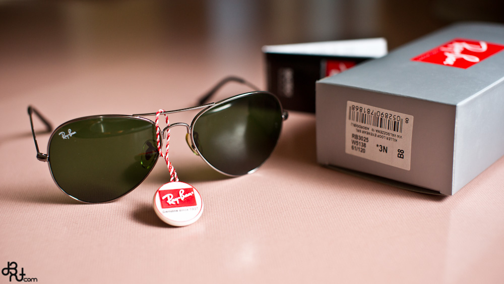 Ray Ban Sunglasses Logo Sticker