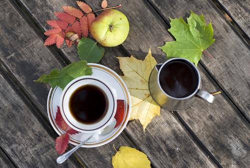 осень.кофе