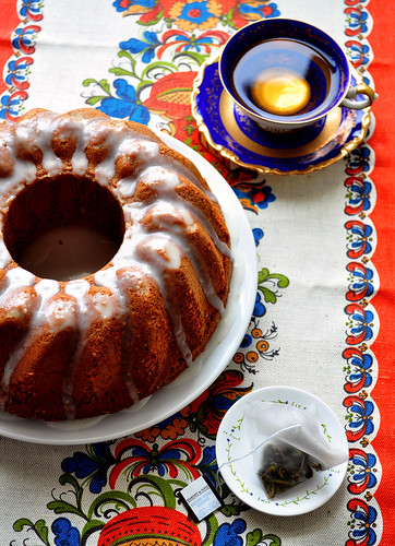 Honey Cake with Tea