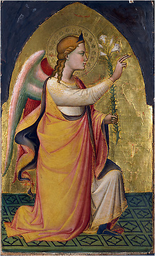 The Annunciatory Angel, 1387, Niccolò  di  Pietro Gerini