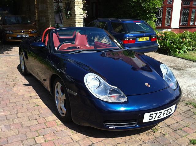 My Porsche Boxster clean!