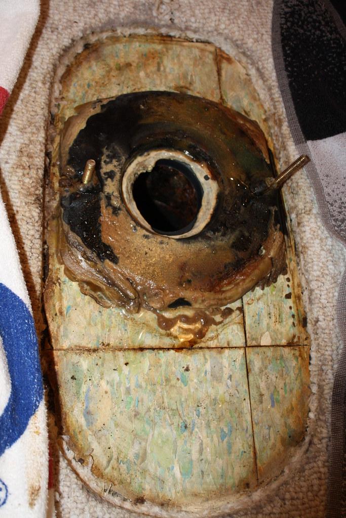 Toilet Repair Sept 2010 - 5