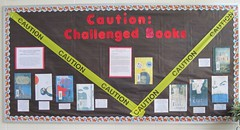 Banned Book Week Bulletin Board 2010