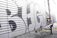 BHG (Grimey  Trains) Tags: street canada art vancouver graffiti bc letter straight burner bhg