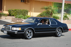 LINCOLN MARK VII (Navymailman) Tags: show california park ford car berry farm forever fabulous fords knotts 2010 fff buena fabulousfordsforever
