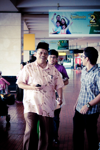 2 Hari Bersama Dato Shahidan Kassim :: Ketibaan ::