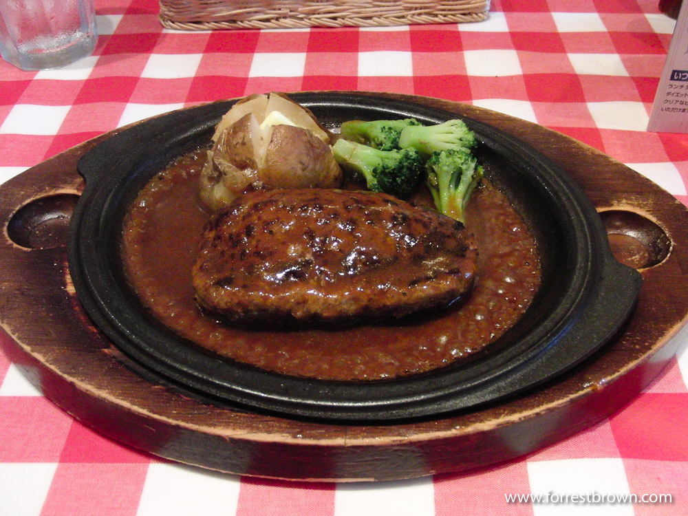 Japan, Tokyo, Hamburger Steak, Food, Lunch, Dinner, Restaurant
