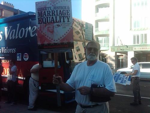 Bob Carter, PFLAG member in San Mateo
