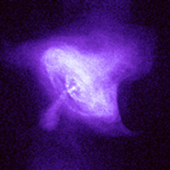 Crab Nebula in X-ray