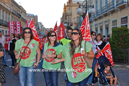 Huelga General 20-09-2010 Melilla