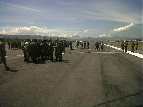 Toma del Aeropuerto Ecuador