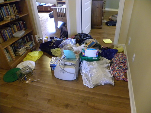Messy Hallway
