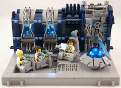 Bridge (Bart De Dobbelaer) Tags: lego space vignette prometheus