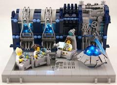 Bridge (Bart De Dobbelaer) Tags: lego space vignette prometheus