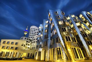 Gehry Building Dusseldorf - Germany
