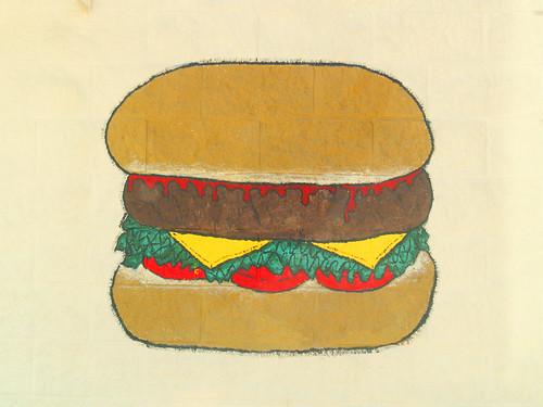 burger art 3