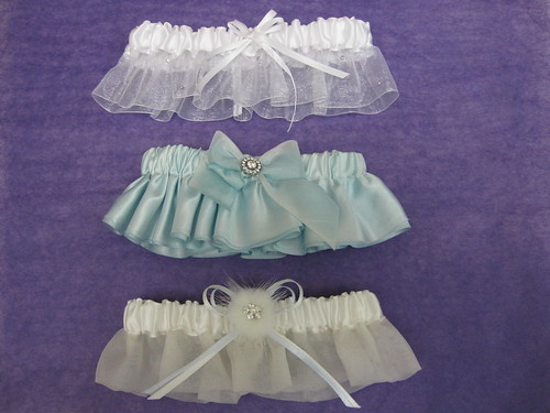Garters from Bridal Styles bridal accessory boutique, New York