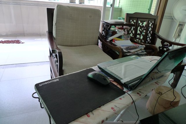 自制电脑桌 010