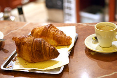 croissants (David Lebovitz) Tags: france coffee cafe croissants rungis